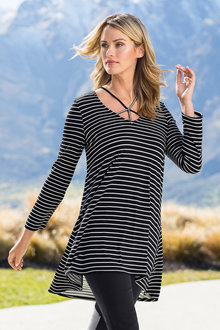 Capture Long Sleeve Dry Knit Tunic