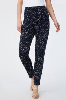 Capture Printed Knit Pants - 190175