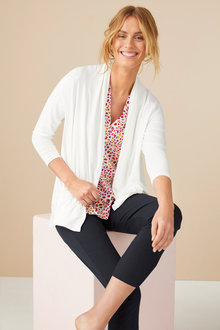 Capture 3/4 Sleeve Swing Cardigan - 190176