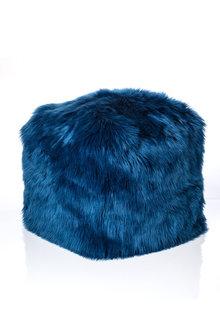 Cara Faux Fur Pouf - 190214