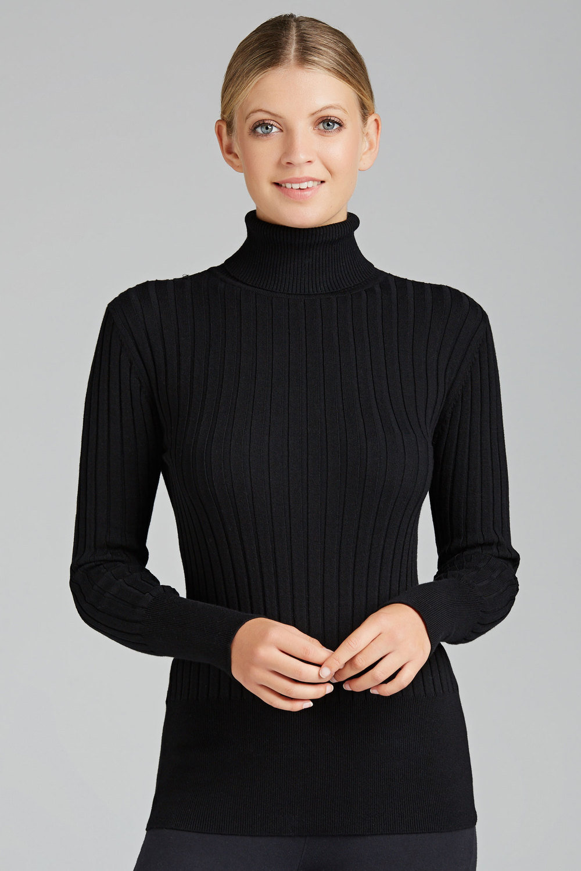 0605eea53c6ad0 Capture Roll Neck Long Sleeve Ribbed Knit Top Online | Shop EziBuy