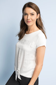 Capture Lace Trim Top