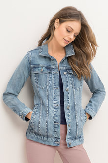 Emerge Longline Denim Jacket