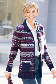Capture European Knit Cardigan