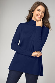 Capture Merino Roll Neck Tunic