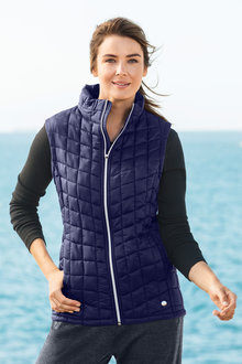 Isobar Outdoors Quilted Puffer Vest - 190282
