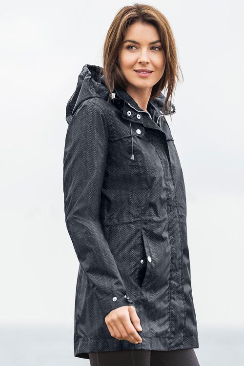 Isobar Outdoors Longline Lightweight Waterproof Jacket
