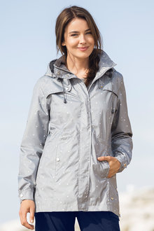 Isobar Outdoors Longline Lightweight Waterproof Jacket