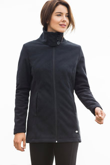 Isobar Outdoors Quilted Fleece Jacket