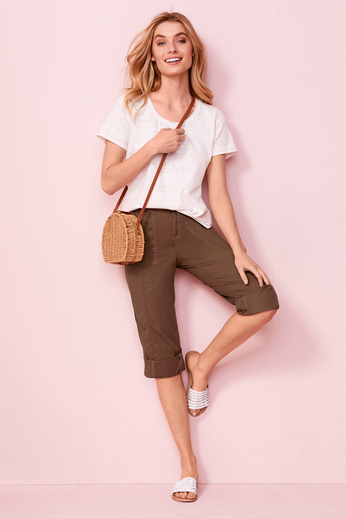 Capture Cargo Crop Pant