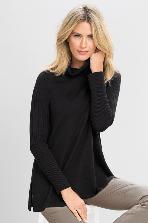 Capture Roll Neck Tunic