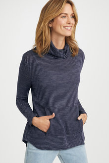 Capture Merino Cowl Neck Jumper
