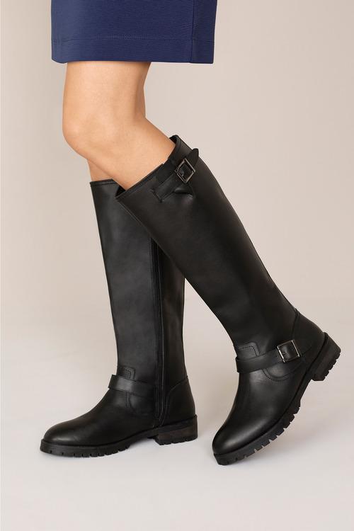Hudson Riding Knee Boot