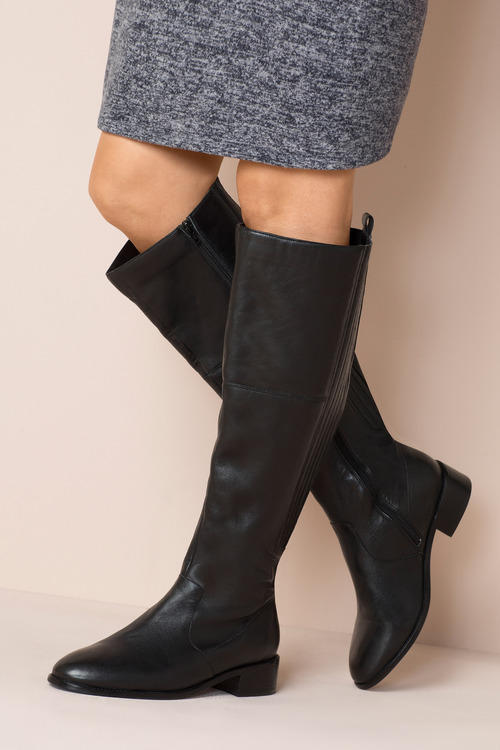 Wide Fit Hewitt Over The Knee Boot