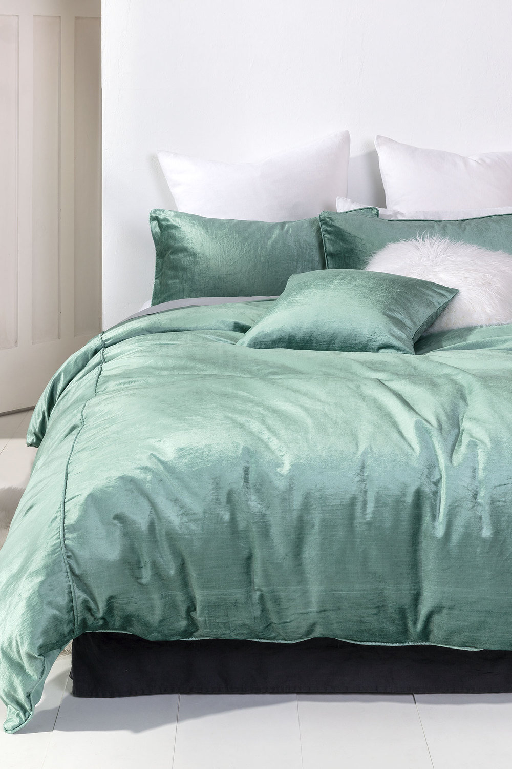 products luxe west elm cover velvet o duvet shams