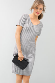 Emerge Textured Shift Dress