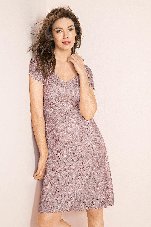 bbd0835136ad Capture Lace Fit   Flare Dress Online