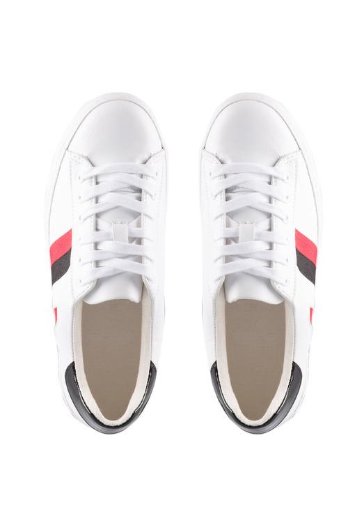 Emerge Berkeley Stripe Heart Lace Up Sneaker