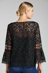 Emerge Star Lace Bell Sleeve Top