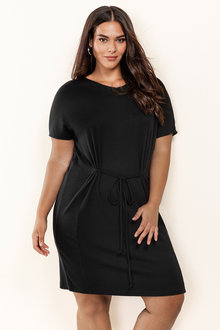 Plus Size - Sara Merino Layer Dress
