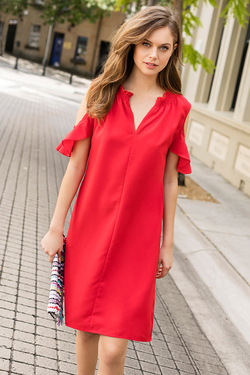 Emerge Cold Shoulder Dress