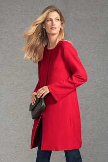 Grace Hill Bell Sleeve Zip Front Jacket