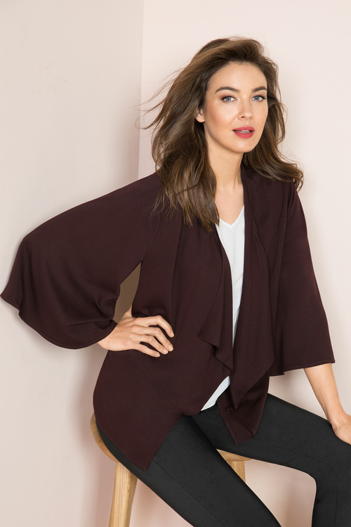 Capture Drape Front Jacket