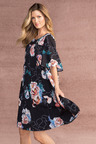 Grace Hill Pleated Dress