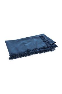 Bennett Frayed Tablecloth