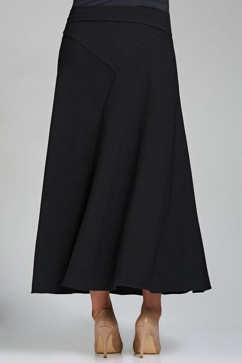 Sara Tie Detail Maxi Skirt