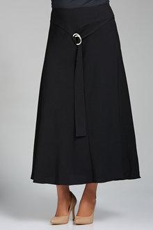Plus Size - Sara Tie Detail Maxi Skirt