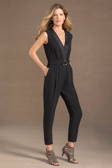 Grace Hill Crossover Jumpsuit