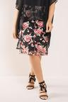 Plus Size - Sara Embroidered Skirt