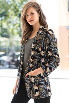 Emerge Sleeve Detail Blazer - 190578