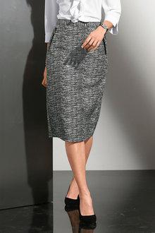 Capture European Patterned Skirt