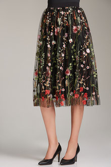 Emerge Embroidered Skirt