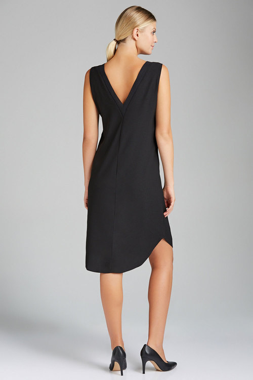 Emerge Rib Trim Shift Dress