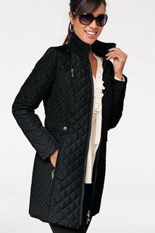 Heine Quilted Longline Coat