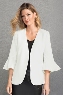 Grace Hill Bell Sleeve Blazer