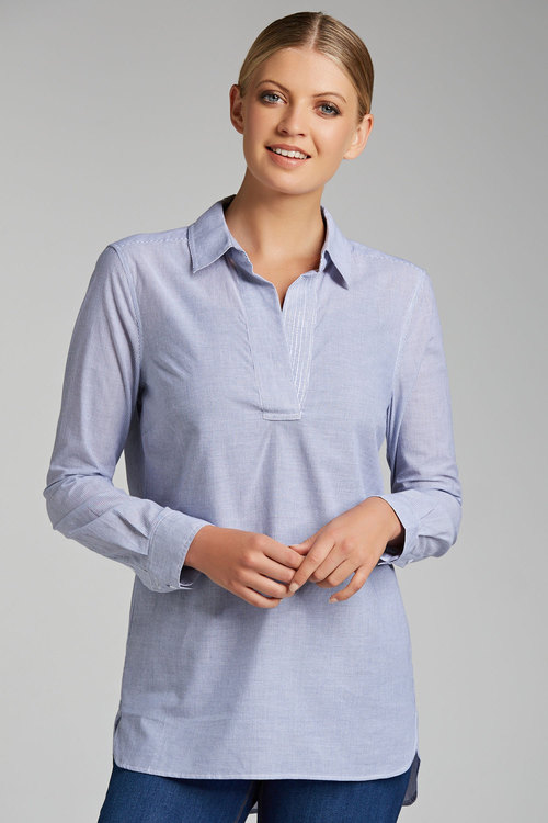 Capture Collared 1/2 Placket Shirt