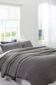Milford Waffle Duvet Cover Set