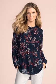 Grace Hill Textured Shirt
