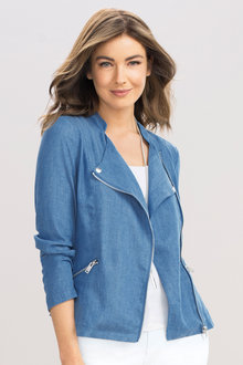 Capture Chambray Utility Jacket