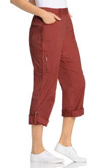 Plus Size - Sara Cargo Pant