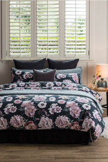 Foliage Floral Duvet Cover Set