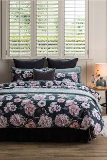 Foliage Floral Duvet Cover Set