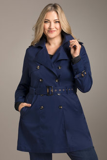 Plus Size - Sara Trench Coat