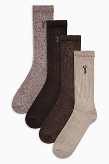 Next Heavyweight Socks Four Pack