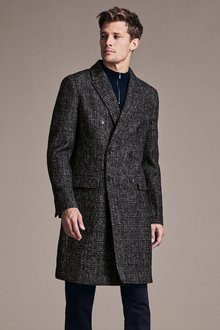 Next Double Breasted Overcoat