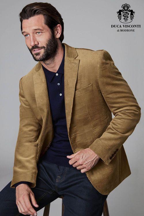 Next Cord Slim Fit Jacket